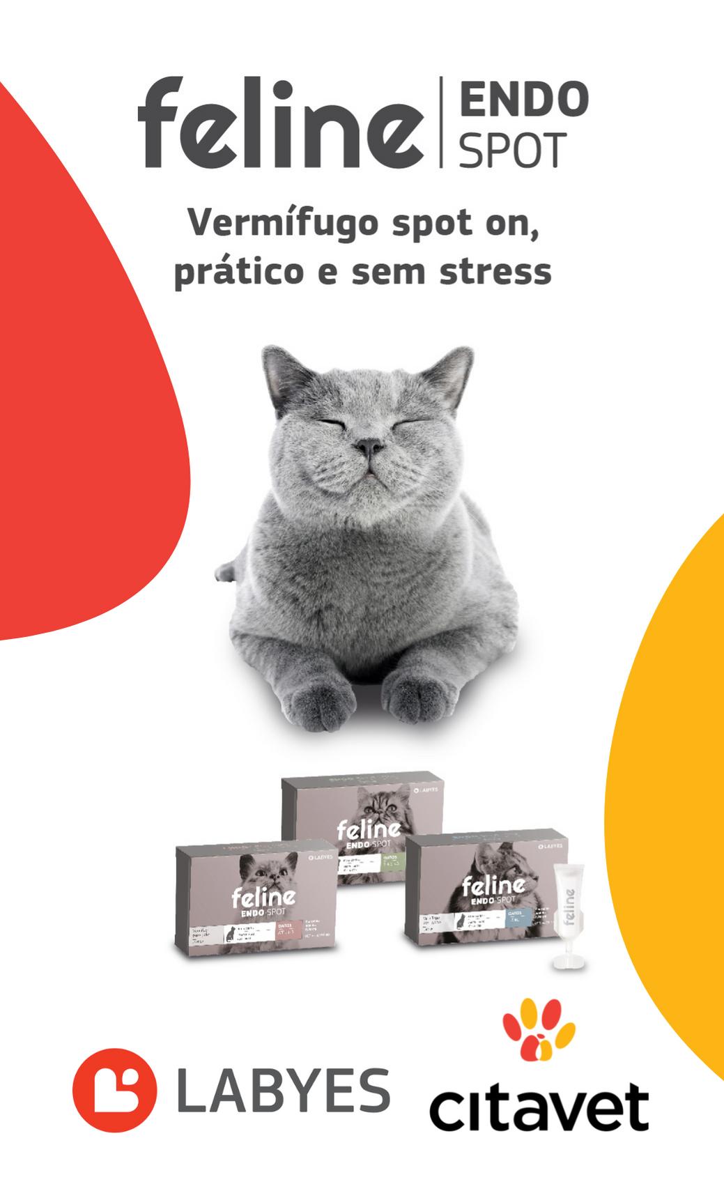 Lançamento LABYES – Feline Endospot