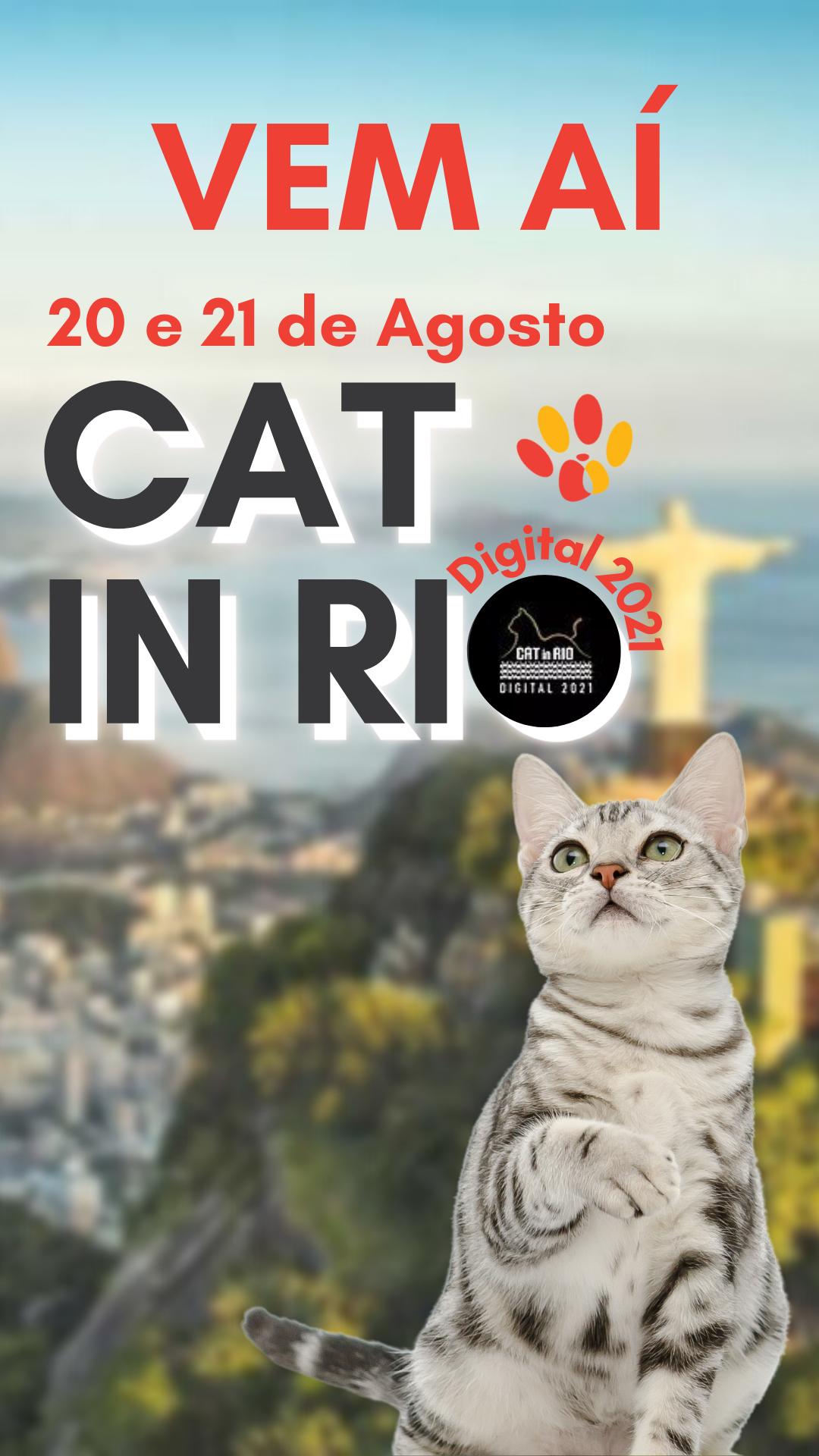 "Vem aí "" CAT IN RIO"" –  Venha participar da feira virtual!"